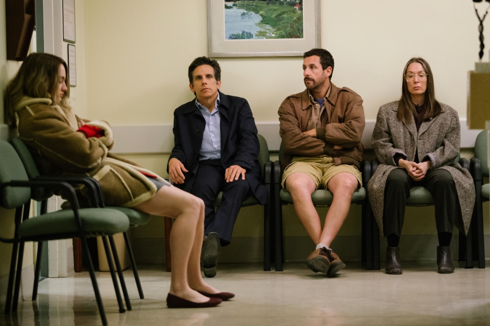 Meyerowitz Stories-review-Adam Sandler